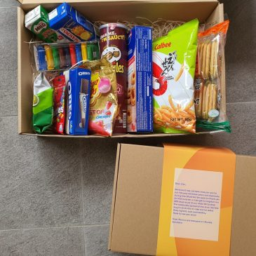 Send Grab N Go Snack Care Pack Singapore | Care Package Singapore