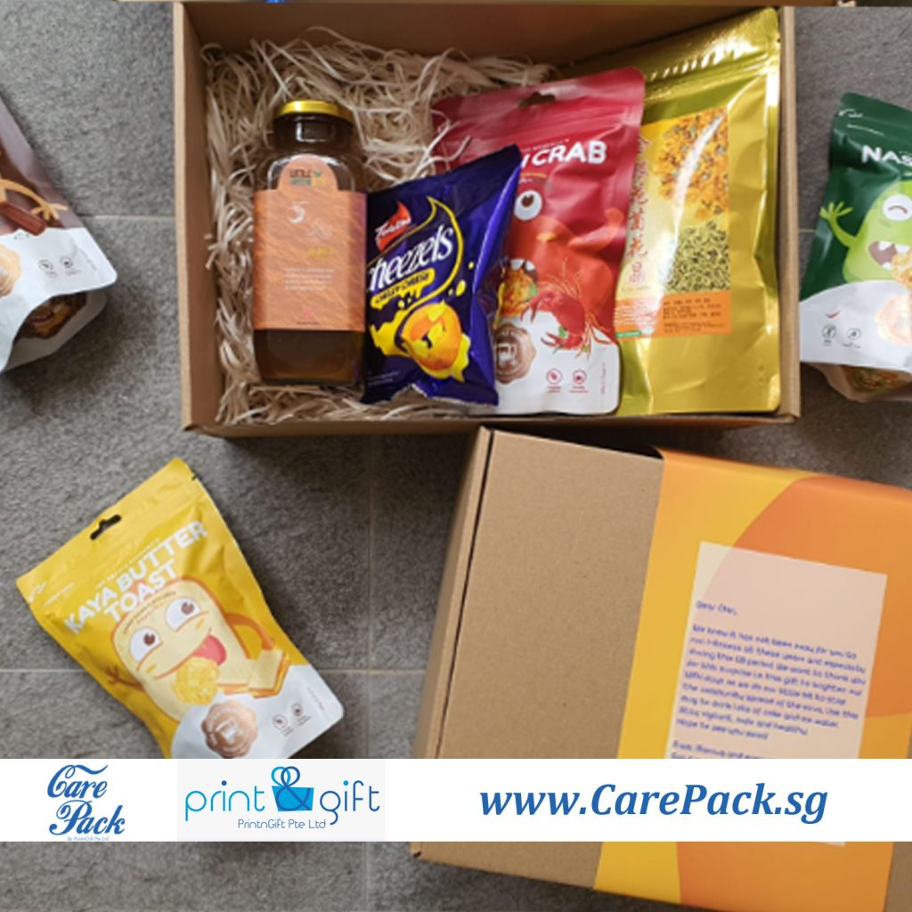 care pack for staff - singapore delivery