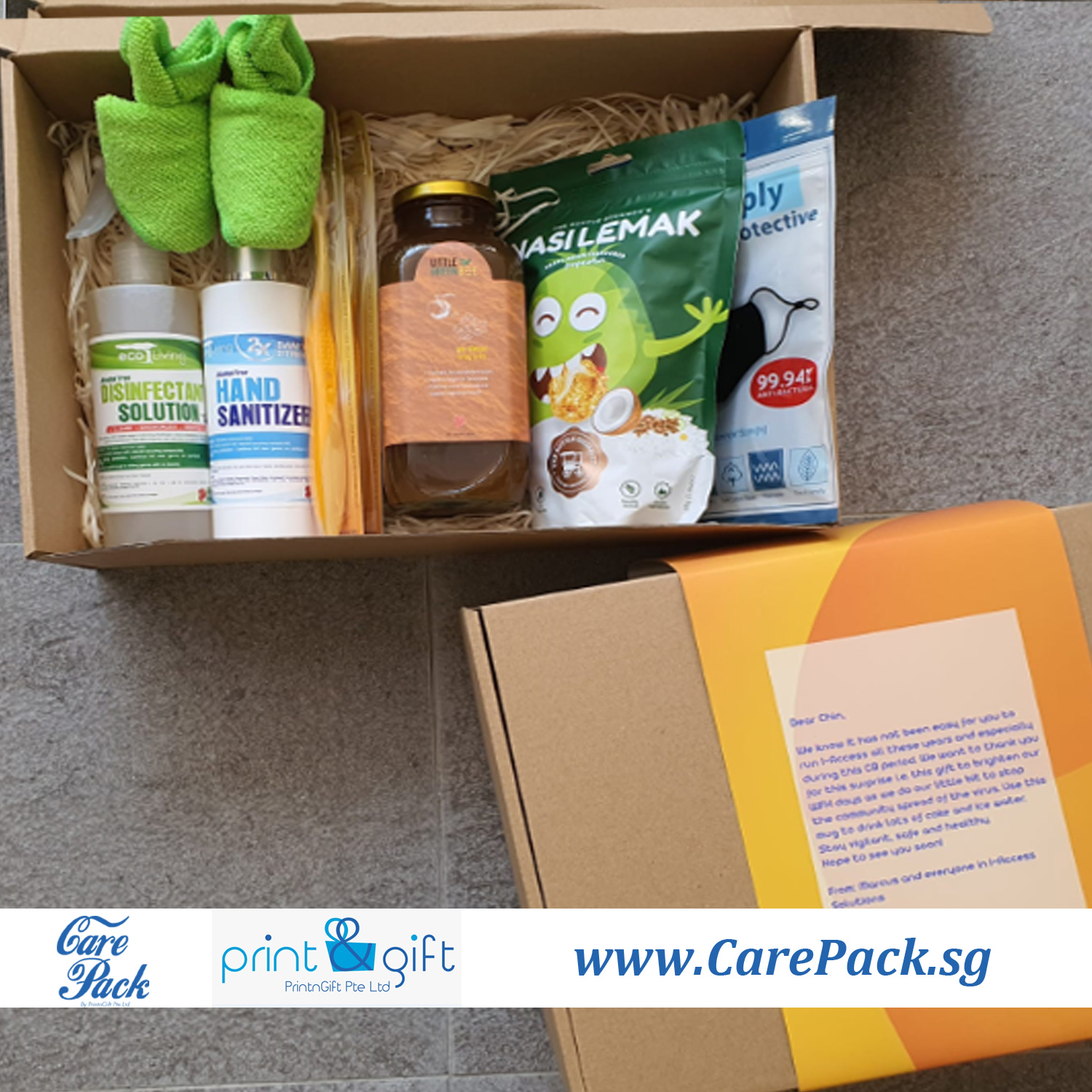 WFH Care Package | WFH Care Pack Delivery in Singapore